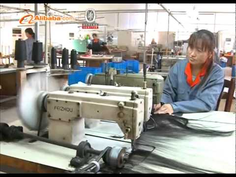 100% human hair Production process show