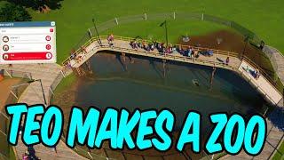 Teo makes a zoo