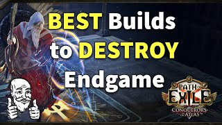 best Path of Exile Builds For Conquerors of The Atlas Endgame