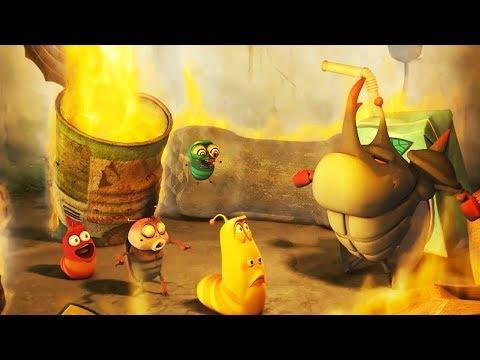 LARVA - FIRE TRAP   Cartoon Movie   Cartoons For Children   Larva Cartoon   LARVA Official