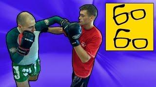 Школа бокса для новичков с Русланом Акумовым — упражнения на координацию, нырки, уклоны, сайд-степы(Подписка на канал