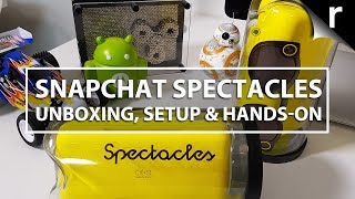 Snapchat Spectacles UK Unboxing, Setup & Hands-on Review