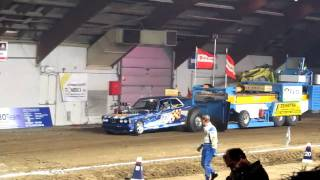 Tractor pulling Zwolle 2011 Dr. Power Stage V 1ste manche 2 wheel drive.