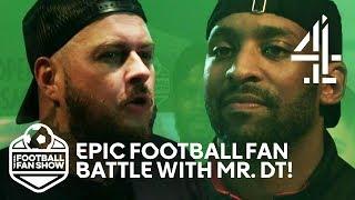 Mr. DT & Flex Face Off In Manchester Utd VS Arsenal Fan Battle! | The Real Football Fan Show