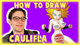 Cómo dibujar a Caulifla en pelotas (sexy) | Dragon ball super | how to draw Caulifla