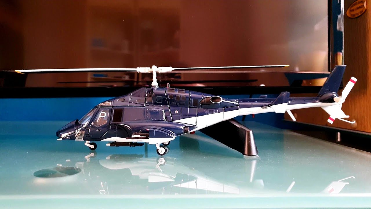 Aoshima Airwolf Helicopter 1/48 Scale Diecast Model