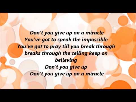 Unspoken - Miracle (Lyrics)