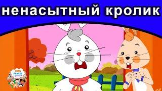 ненасытный кролик | русские сказки | сказки на ночь | русские мультфильмы | сказки