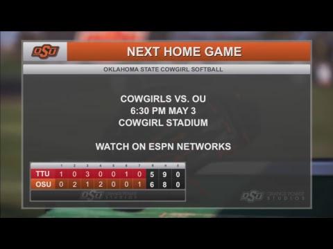 Oklahoma State Softball vs. Texas Tech
