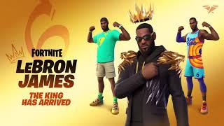 Fortnite LeBron James Skin Reveal Trailer