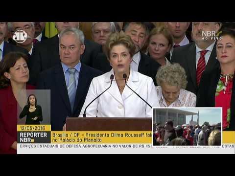 Discurso de Dilma Rousseff após aprovação do impeachment no Senado | Jovem Pan