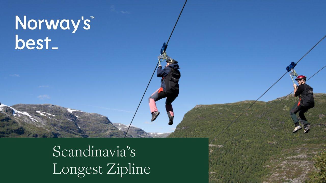 Flåm Zipline   Norways best
