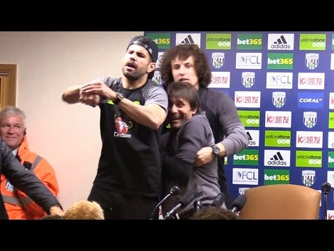 Antonio Conte Full Post Match Press Conference After Winning Premier League! Kidnapped By Players 😂