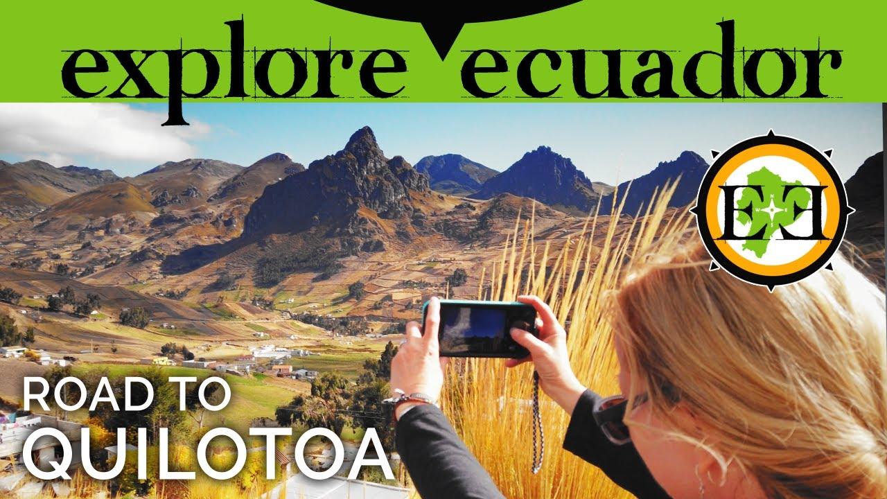ECUADOR | Quilotoa Crater Road Trip | Views of Cotopaxi Volcano!