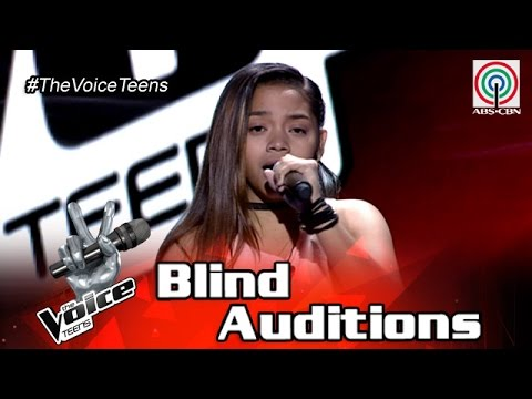 The Voice Teens Philippines Blind Audition: Patricia Bonilla - Iingatan Ka