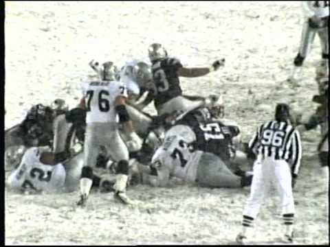 "Patriots vs.Raiders ""Tuck Rule"" game Highlights"