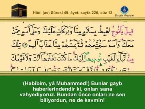 Fatih Çollak - 228.Sayfa - Hûd Suresi (63-71)