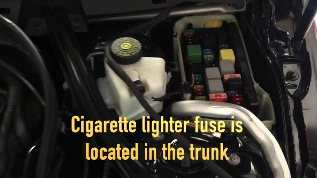 MercedesBenz C250 18L Turbo 2012: How to fixreplace cigarette lightercar charger fuse  YouTube