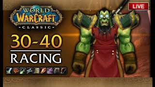 🔴LIVE: CLASSIC WOW BETA,  LEVELING 30-40!