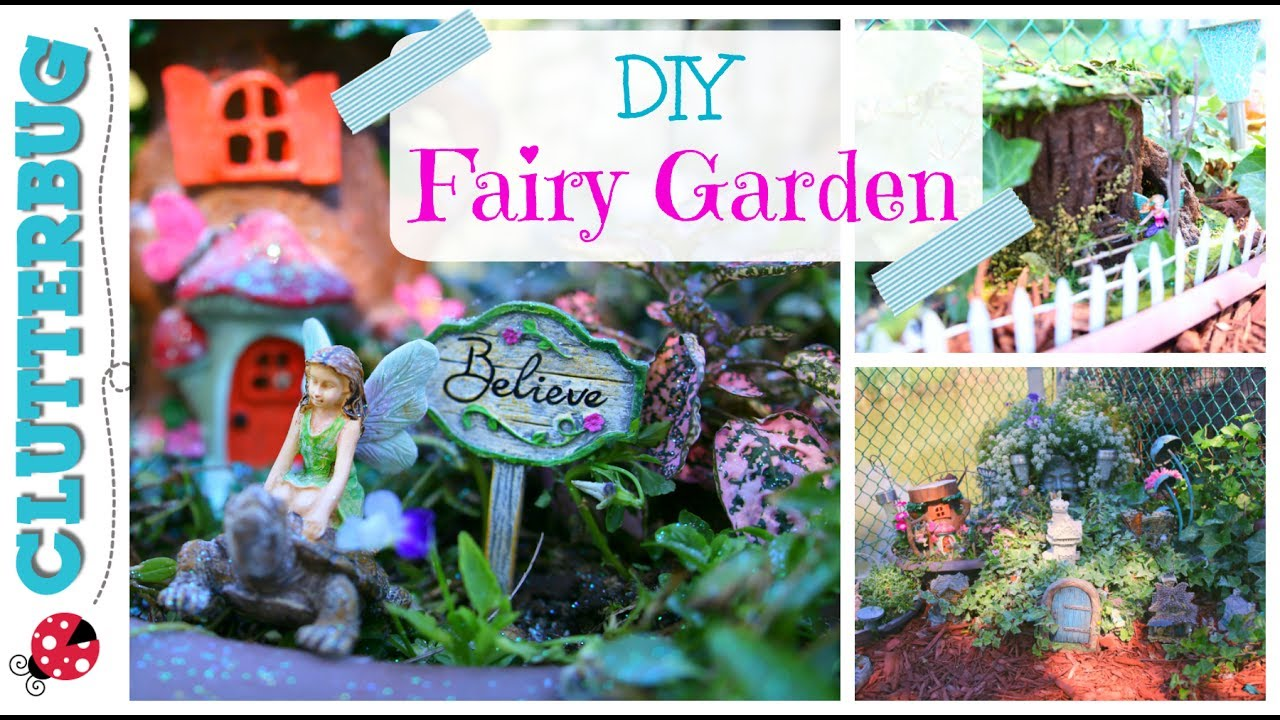 diy fairy garden ideas and tour - Diy Fairy Garden Ideas