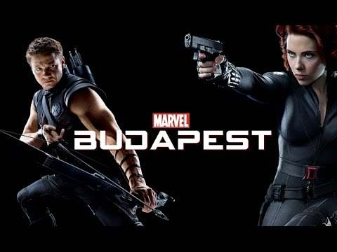 Image result for black widow and hawkeye budapest
