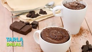 Chocolate Mug Cake By Tarla Dalal