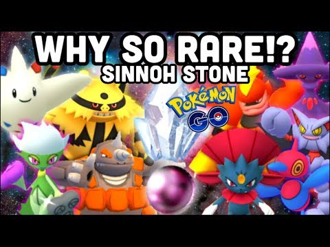 SINNOH STONE RARITY PROBLEM IN POKEMON GO NOT FOR LONG | SINNOH EVOLUTIONS VS RAIDS