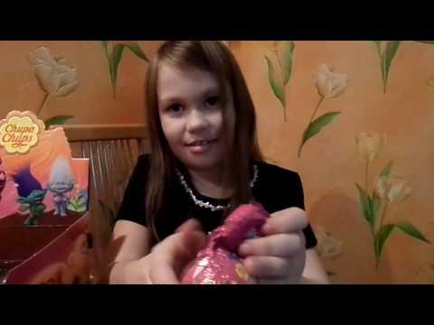 ТРОЛЛИ ЧЕЛЛЕНДЖ Шоколадные шары Чупа Чупс  CHUPA CHUPS TROLL