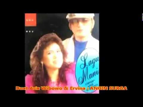 Duet Arie Wibowo & Ervina -- ANGIN SURGA  -  Lagu Pop Memory Tahun 1975. -- 1,075