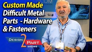 31 CNC Milling Centers, 33 CNC Precision Turning Centers making fasteners and metal parts- Pencom
