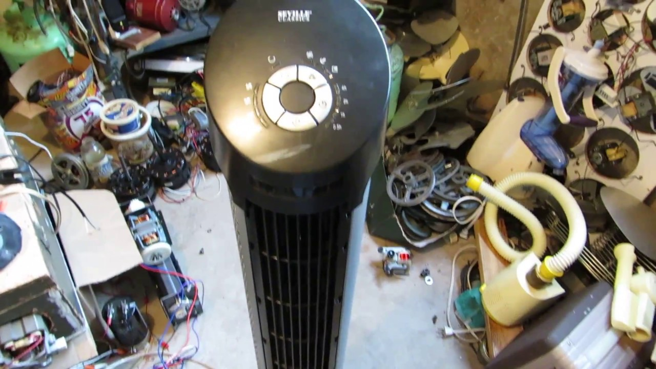 Suped-Up Tower Fan