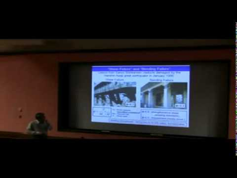 Structural damage of structure and antiquake design of concrete structure part 1