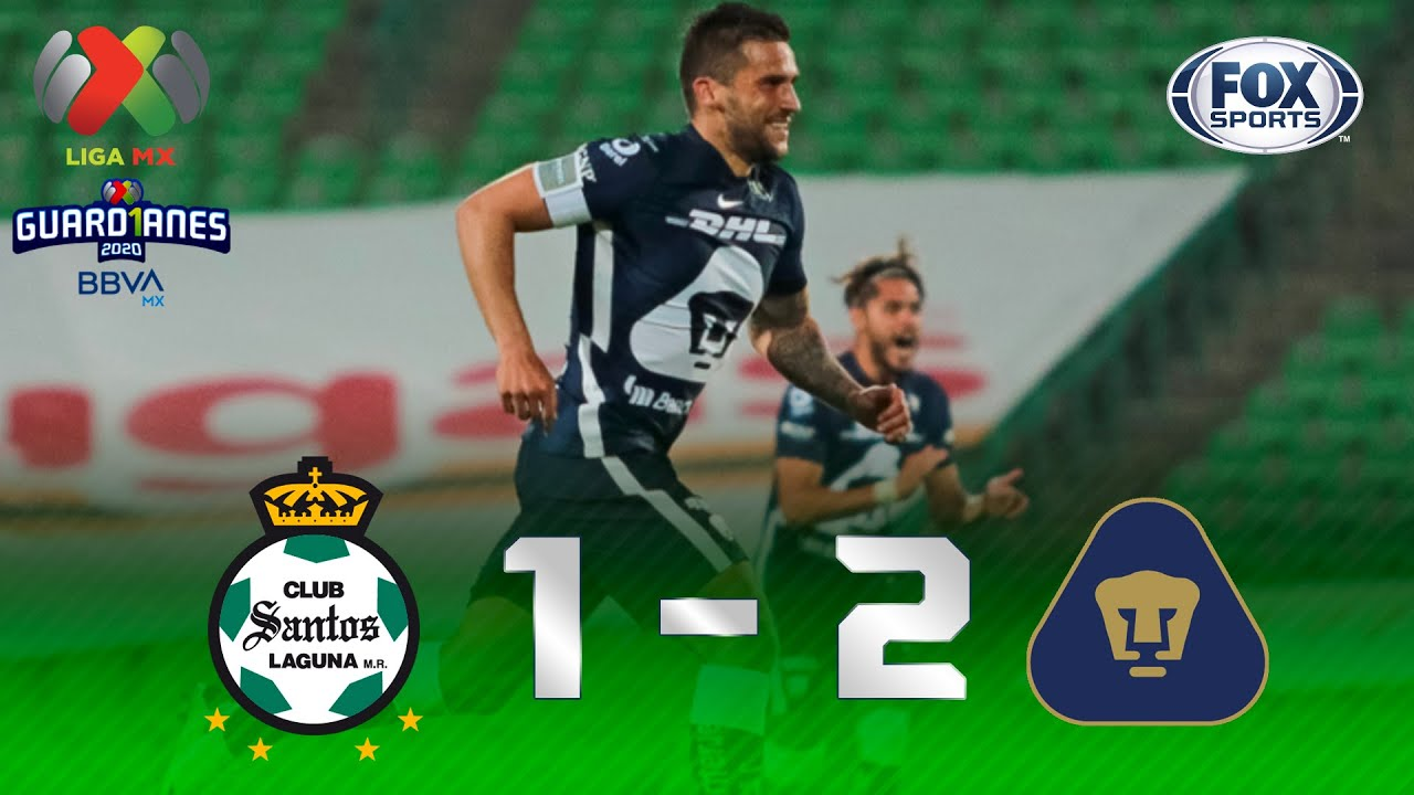 Empleado Formación Perdóneme  Santos Laguna - Pumas [1-2]   GOLES   Jornada 9   Liga MX Guard1anes 2020 -  YouTube