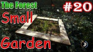 Скачать Small Garden в игре The Forest Как выращивать ягоды в маленьком саду садике
