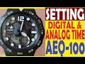HOW TO SET A CASIO WATCH FULL VIDEO USER'S GUIDE - YouTube