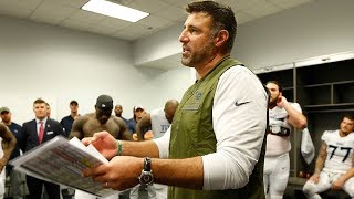 Mike Vrabel's Post-Game Victory Speech
