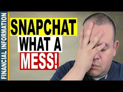 Snapchat 3rd Quarter 2017 Result | Snapchat HUGE Miss on Earnings | Snapchat Stock