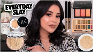 MY GO-TO EVERYDAY 'GLAM' MAKEUP LOOK: EVERYDAY MAKEUP ROUTINE! | MakeupByAmarie