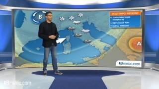 Meteo Italia: nel weekend torna il maltempo