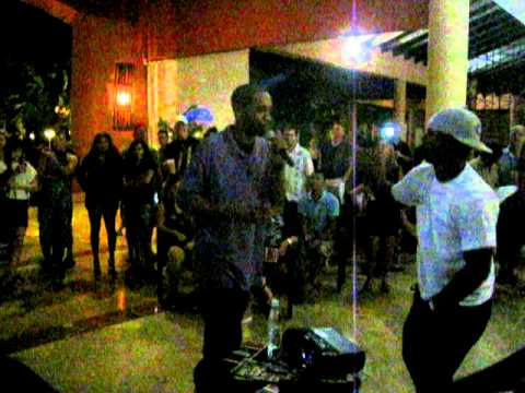 Punta Cana Karaoke turned freestyle