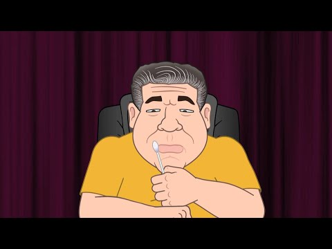 Joey Diaz's Covid Moment - JRE Toons