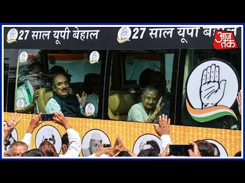 Sheila Dikshit Begins 3-Day Bus Tour As Congress Launches UP Campaign