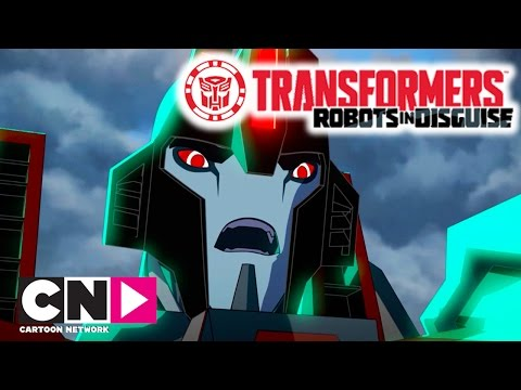 Transformers: Robots In Disguise | Mighty Big Trouble | Cartoon Network