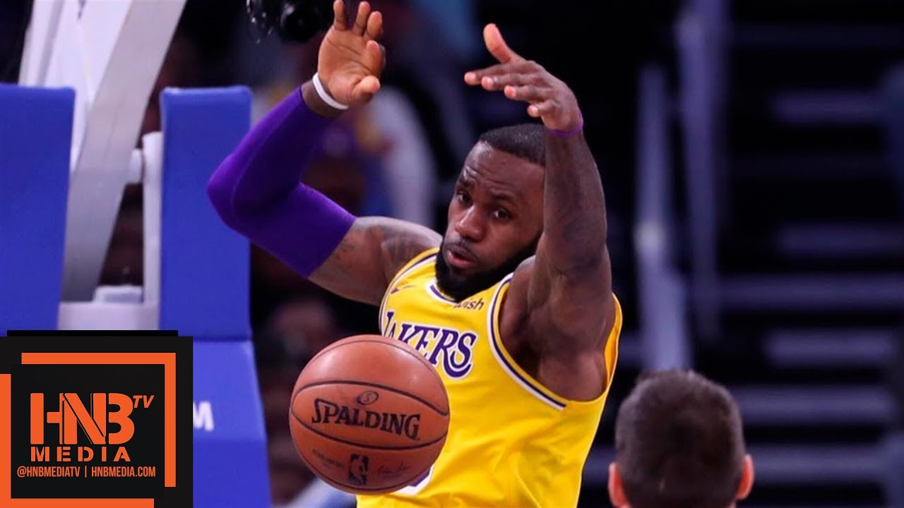 Los Angeles Lakers vs Orlando Magic Full Game Highlights | 11.17.2018, NBA Season