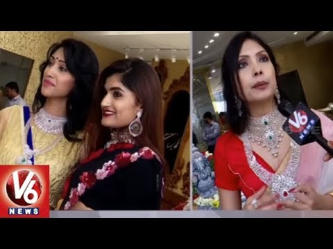 Diamond Summer Carnival Expo 2019 Launched In Jubilee Hills | Mrs Asia Pacific Sudha Jain | V6 News