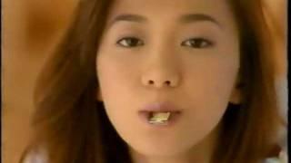 LOTTE Commercial 1995 Tomomi Kahara ロッテ 紗々 CM 華原朋美 1995.