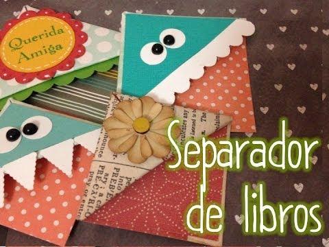 TUTORIAL Cómo hacer un separador de libros Original Origami ...