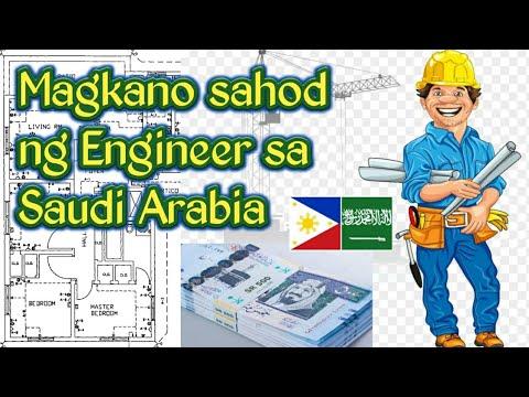 Magkano Sahod ng Engineer sa Saudi Arabia? ( Engineer's Salary in KSA)