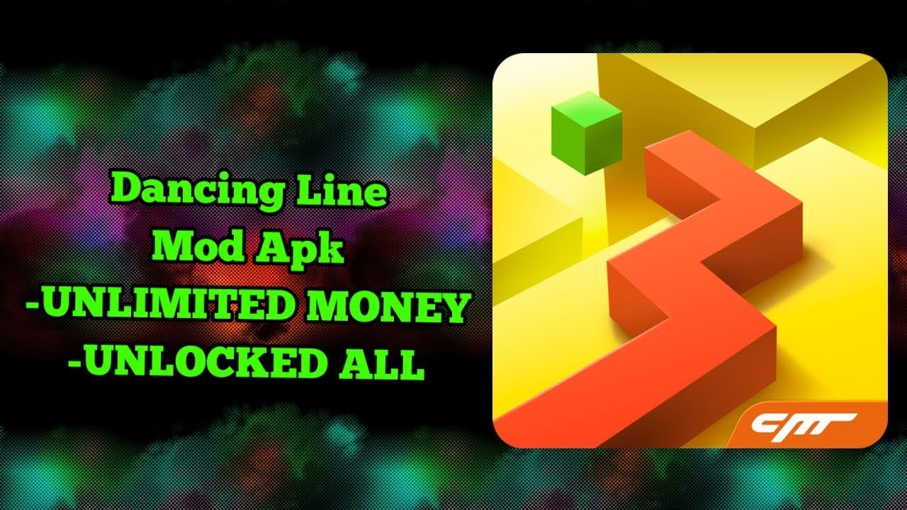 Dancing Line Apk + Mod (Unlimited Money & Cubes) for android