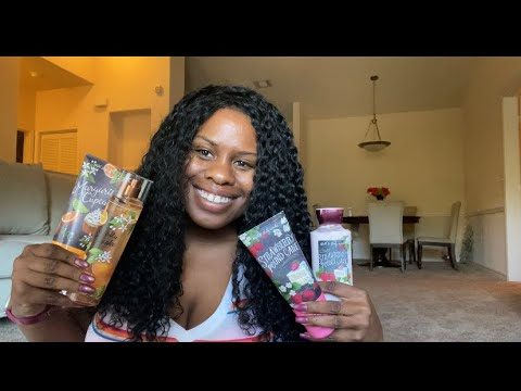 BATH & BODY WORKS NEW SWEET ON YOU BODY CARE COLLECTION HAUL+ REVIEW